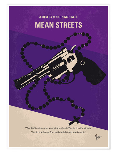 Premium poster Mean Streets
