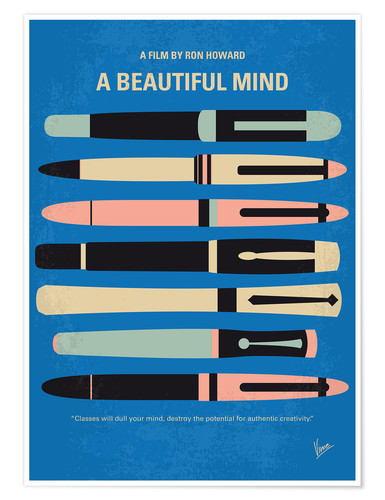 Premium poster A Beautiful Mind