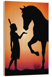 Wood  Horse whisperer - Kidz Collection