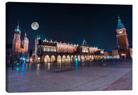 Canvas print  World Famous Cracow Main Square