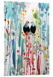 Acrylic print  The beautiful vertical story - Sylvie Demers