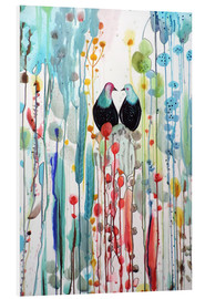 Foam board print  The beautiful vertical story - Sylvie Demers