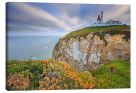 Canvas print  Sunset on Cabo da Roca Sintra Portugal - Roberto Sysa Moiola