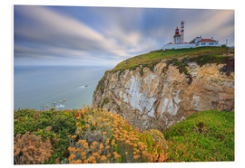 Foam board print  Sunset on Cabo da Roca Sintra Portugal - Roberto Sysa Moiola