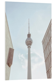Foam board print  Fernsehturm Berlin - Amy and Kurt