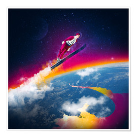 Premium poster  One Giant Leap - Stoddartist