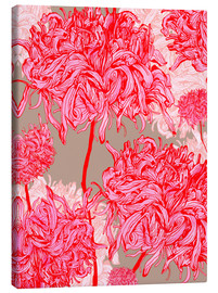 Canvas print  Pretty in pink chrysanthemum - Ella Tjader