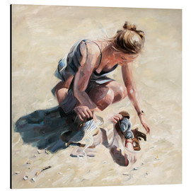 Aluminium print  Shell collectors - Johnny Morant