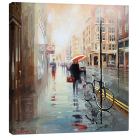 Canvas print  Storm clearing - Johnny Morant