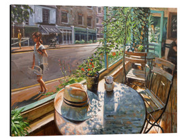 Aluminium print  Greenwich Cafe - Johnny Morant