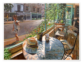Premium poster  Greenwich Cafe - Johnny Morant