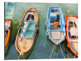 Aluminium print  Fishing boats - Johnny Morant