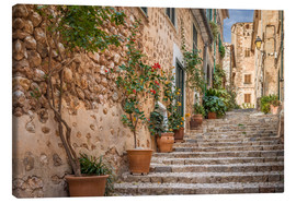 Canvas print  Fornalutx - Most beautiful village in Majorca - Christian Müringer