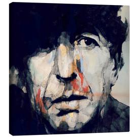 Canvas  Leonard Cohen   Hey That's No Way To Say Goodbye - Paul Paul Lovering Arts