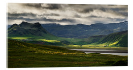 Acrylic print  The beauty of Iceland - Dennis Fischer
