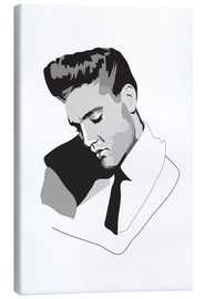 Canvas print  Elvis - Anna McKay