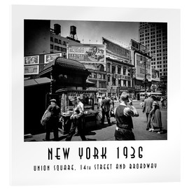 Christian Müringer - Historic New York: Union Square, 14th Street and Broadway