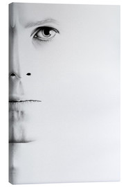 Canvas  David Bowie Minimal Portrait - Ileana Hunter