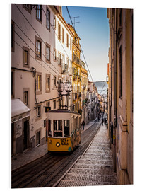 Foam board print  Tram in Lisbon - Jörg Gamroth