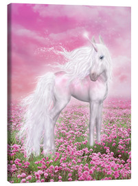 Canvas print  Unicorn Glitter - Dolphins DreamDesign