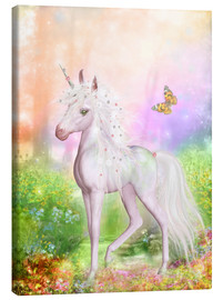 Canvas print  Unicorn Smile - Dolphins DreamDesign