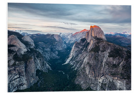 Foam board print  Glacier Point - Yosemite NP - Thomas Klinder