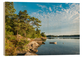 Wood  Archipelago on the Baltic Sea coast in Sweden - Rico Ködder