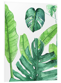 Forex  Tropical leaves - Rongrong DeVoe