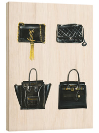 Wood  Handbags collection - Rongrong DeVoe