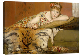 Canvas print  Cherries - Lawrence Alma-Tadema