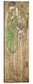 Canvas print  O Ye All Ye That Walk in Willow Wood - Margaret MacDonald Mackintosh