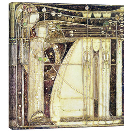 Canvas print  The opera of the wind - Margaret MacDonald Mackintosh