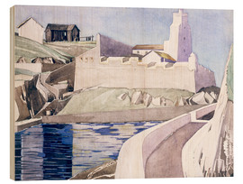 Wood print  The Lighthouse - Charles Rennie Mackintosh