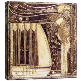 Canvas  The Opera of the Sea - Margaret MacDonald Mackintosh