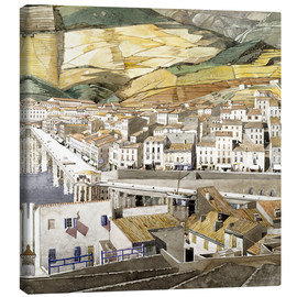 Canvas print  Port Vendres - Charles Rennie Mackintosh