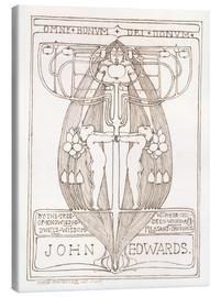 Margaret MacDonald Mackintosh - Design for a Bookplate