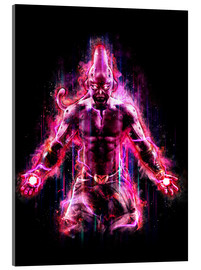 Acrylic print  Majin Buu Dragon Ball Z - Barrett Biggers