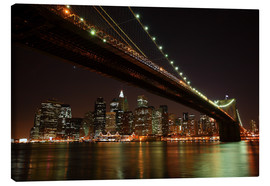 Canvas print  Manhattan Skyline, New York, United States - Roberto Sysa Moiola