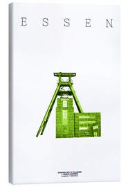 Canvas  Essen City Colliery Zollverein - campus graphics
