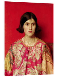 Foam board print  The Exile: Heavy is the Price I Paid for Love - Thomas Cooper Gotch