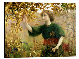 Aluminium print  A Golden Dream - Thomas Cooper Gotch