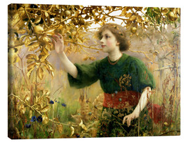 Thomas Cooper Gotch - A Golden Dream