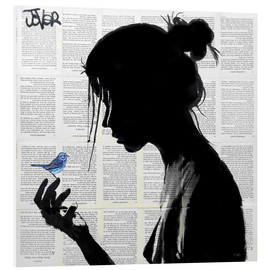 Foam board print  blue note - Loui Jover