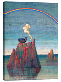 Canvas  Sacrifice (The Noah's Ark) - Mikalojus Ciurlionis