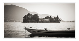 Premium poster Italy - Lake Iseo