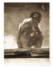Francisco José de Goya - A Giant Seated in a Landscape, The Colossus