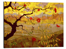 Aluminium print  Apple Tree with Red Fruit - Paul Ranson