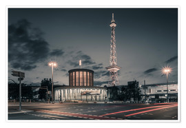 Premium poster Berlin TV Tower