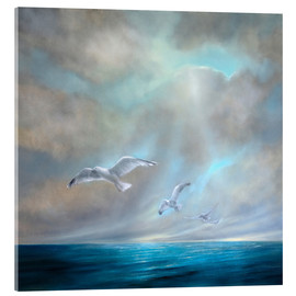 Acrylic print  To be free - Annette Schmucker