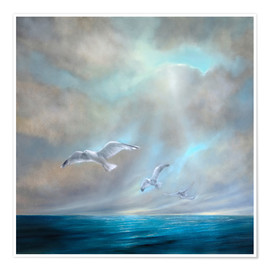 Poster  To be free - Annette Schmucker